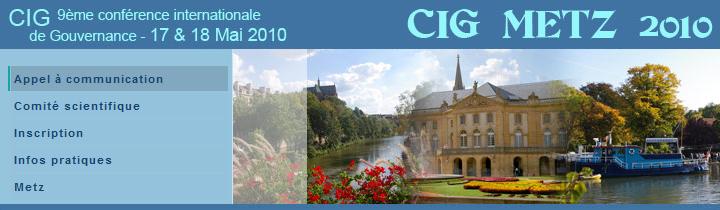 CIG 2010 / METZ (France)