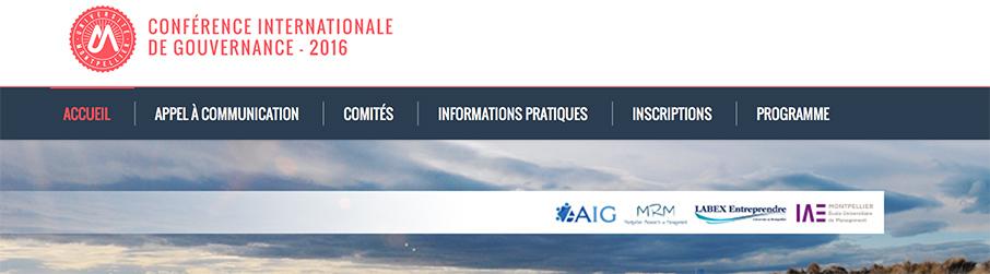 CIG 2016 / MONTPELLIER (France)