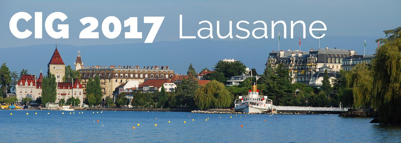 CIG 2017 / LAUSANNE (Suisse)